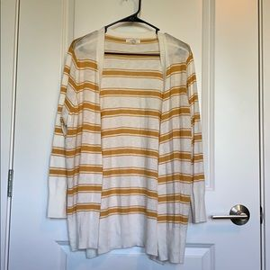 Maurices striped cardigan